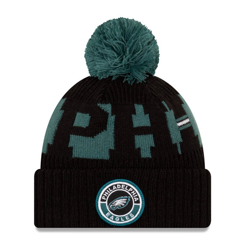 NFL Bobble Knit Wintermütze Team Philadelphia Eagles