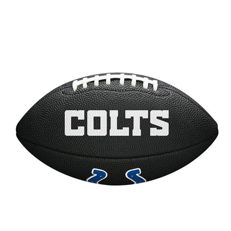 Wilson NFL Indianapolis Colts Mini Football - schwarz