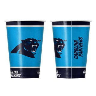 NFL Carolina Panthers Pappbecher 20 er Pack