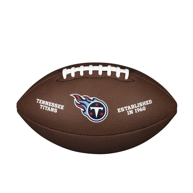 Wilson NFL Team Logo Composite Football Tennessee Titans