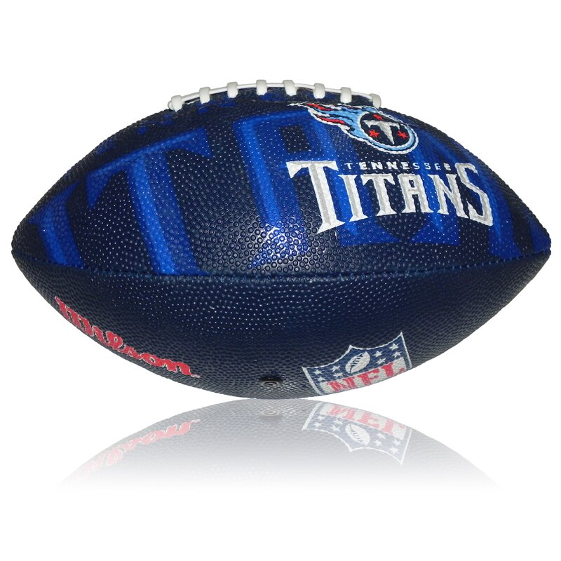 Wilson NFL Junior Tennessee Titans Logo Football
