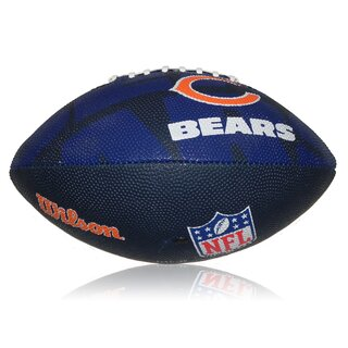 Wilson NFL Junior Chicago Bears Logo Football