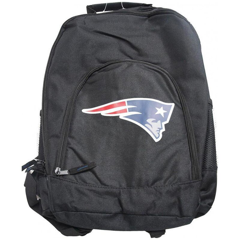 Forever Collectibles NFL Black Backpack, Rucksack - New England Patriots