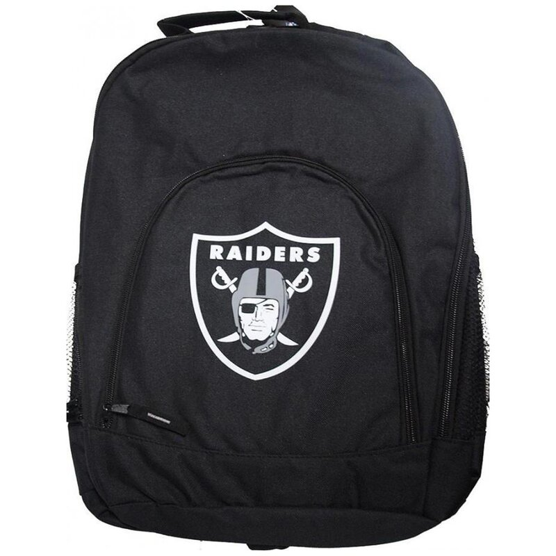 Forever Collectibles NFL Black Backpack, Rucksack - Las Vegas Raiders