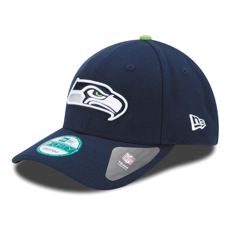 New Era NFL 9FORTY Seattle Seahawks Game Cap, navy