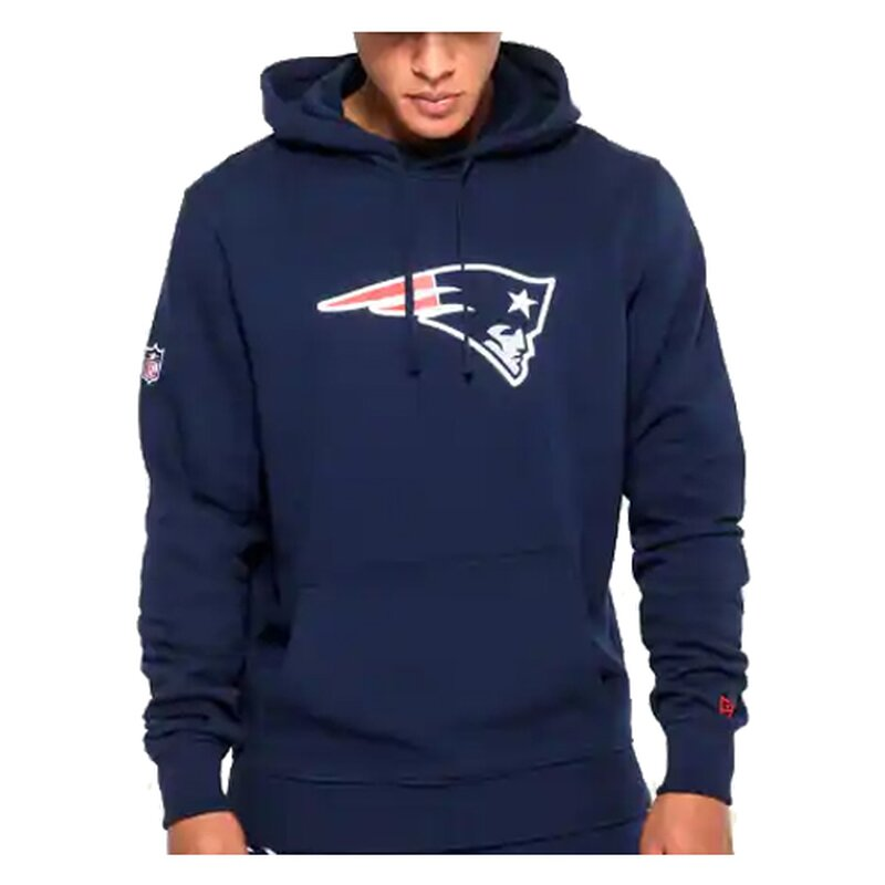 New Era NFL Team Logo Hoodie New England Patriots