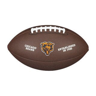 Wilson NFL Team Logo Composite Football Chicago Bears
