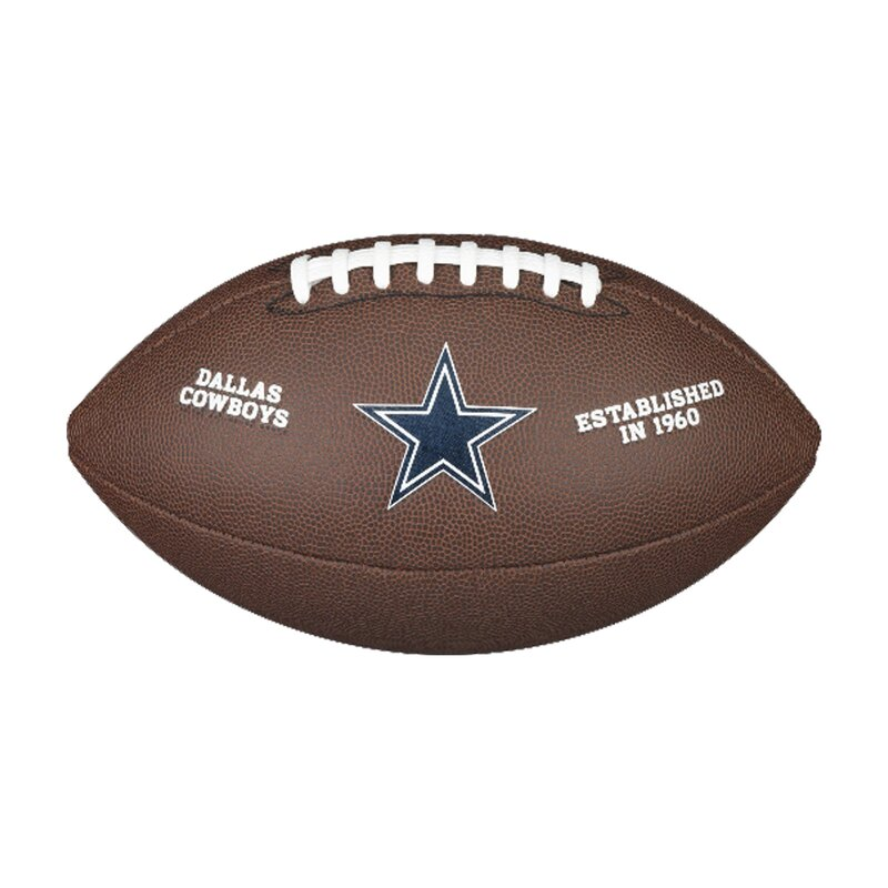 Wilson NFL Team Logo Composite Football Dallas Cowboys
