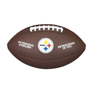 Wilson NFL Team Logo Composite Football Pittsburgh Steelers
