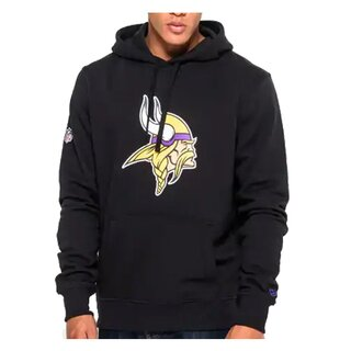 New Era NFL Team Logo Hoodie Minnesota Vikings