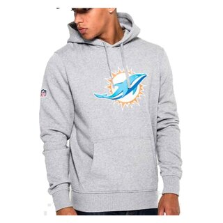 New Era NFL Team Logo Hoodie Miami Dolphins