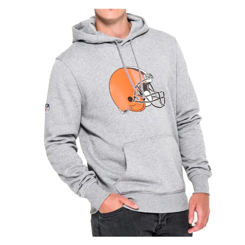 New Era NFL Team Logo Hoodie Cleveland Browns