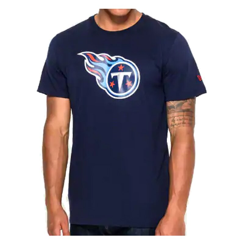 New Era NFL Team Logo T-Shirt Tennessee Titans navy - Gr. L