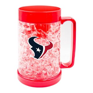 NFL Houston Texans Full Color Freezer Mug Krug