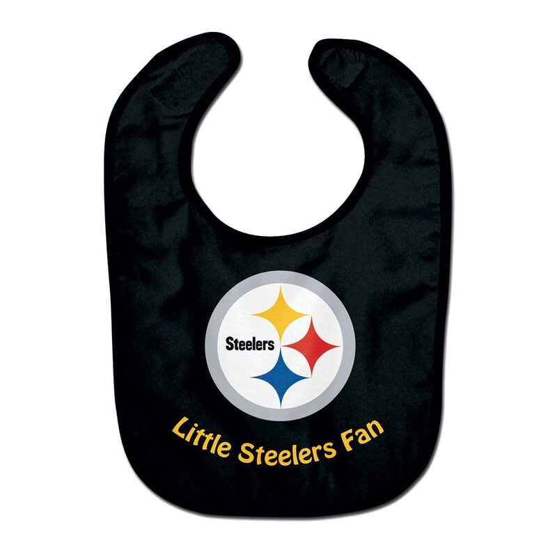 NFL Pittsburgh Steelers Team Color All Pro Little Fan Baby Lätzchen