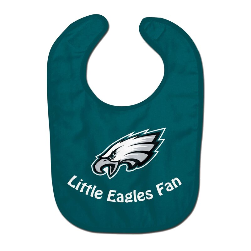 NFL Philadelphia Eagles Team Color All Pro Little Fan Baby Lätzchen