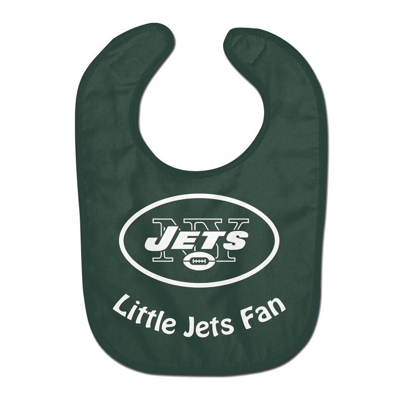 NFL New York Jets Team Color All Pro Little Fan Baby Lätzchen