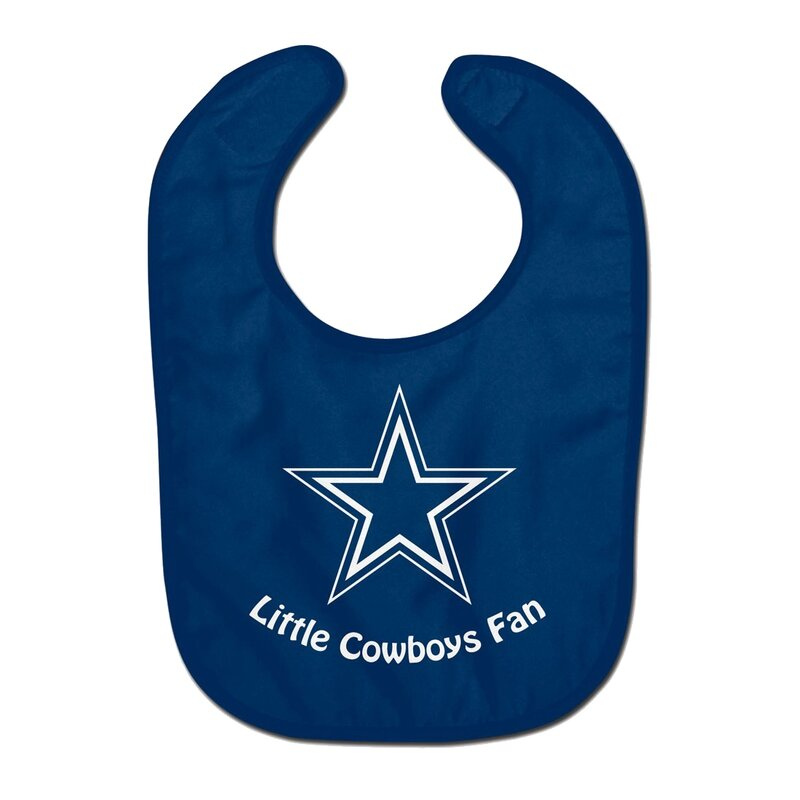 NFL Dallas Cowboys Team Color All Pro Little Fan Baby Lätzchen