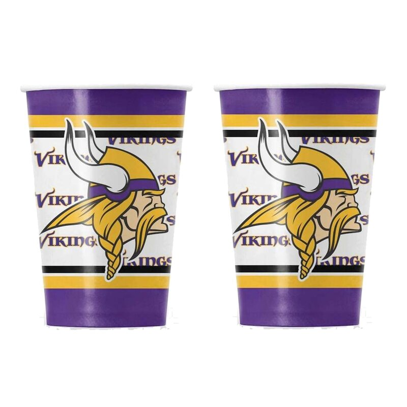 NFL Minnesota Vikings Pappbecher 20er Pack